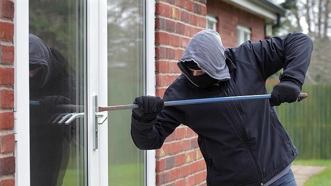 ladron casas seguridad